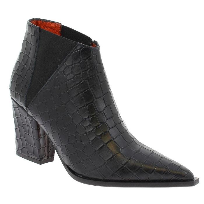 Elizabeth Stuart LIMA 318 NOIR - Chaussures Bottine Femme