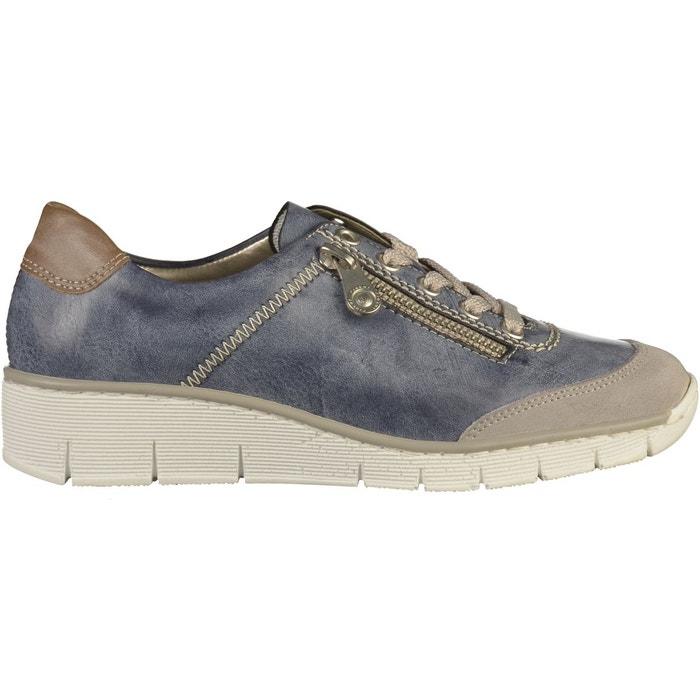 Acheter Magasins D'usine Pas Cher Édition Limitée Sneaker bleu Rieker Best-seller Pas Cher En Ligne tUSuNjP