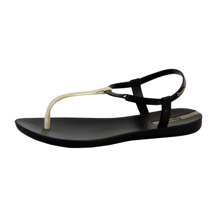 Sandales charm v sand  noir Ipanema  La Redoute