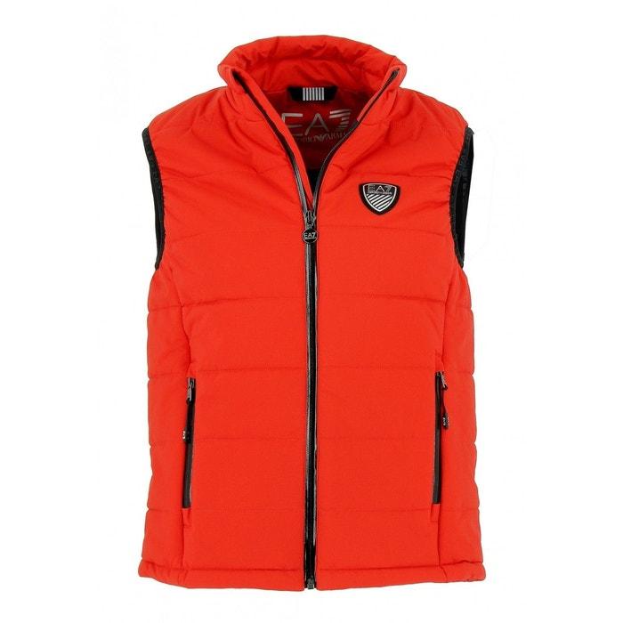 Doudoune sans manches ea7 down jacket emporio armani nylon rouge Emporio  Armani Ea7   La Redoute 5ef9ee66611