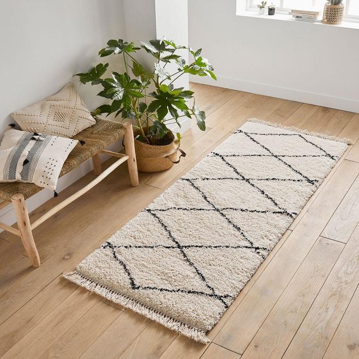 Tapis Style Berbere Fatouh Noir Blanc La Redoute Interieurs La
