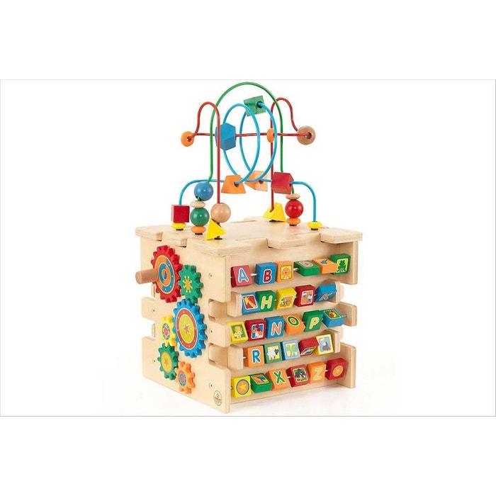 cube d 39 activit bois b b kidkraft kidkraft la redoute. Black Bedroom Furniture Sets. Home Design Ideas