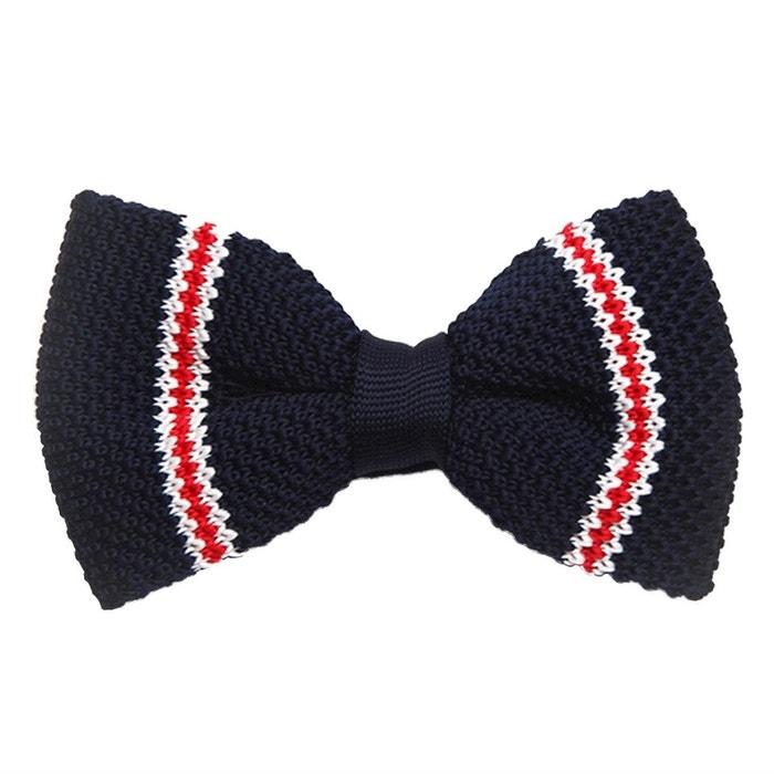 classique Noeud papillon tricot bleu et rouge multicolore Dagobear | La Redoute Coût De La Vente Acheter Pas Cher Meilleur PNUZATeHXm