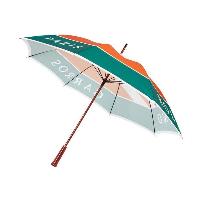 Parapluie logo signature grand modèle vert Roland Garros | La Redoute Meilleur Endroit De Réduction kqqsm