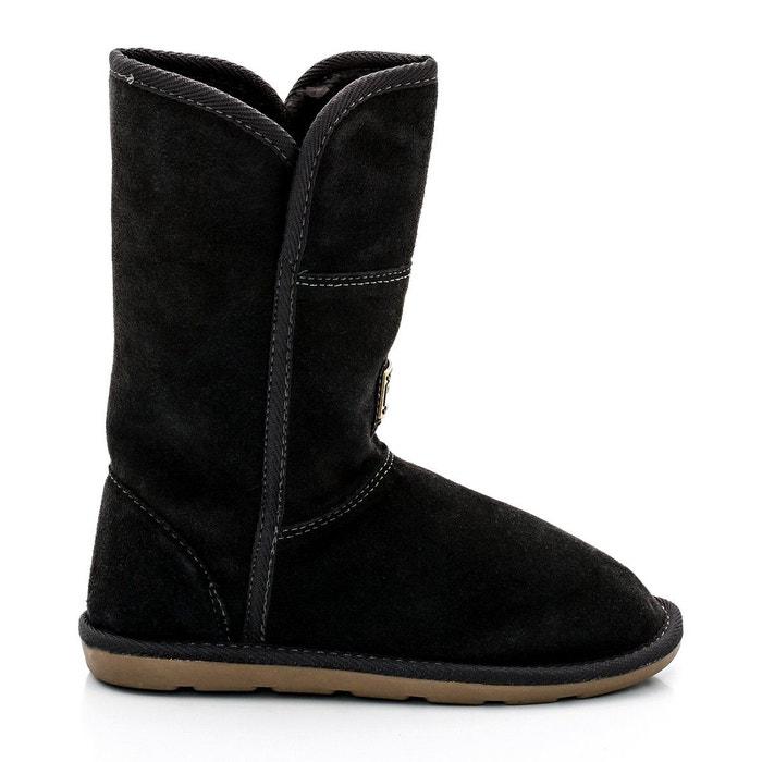boots en cuir fourr es arctique gris les tropeziennes par m belarbi la redoute. Black Bedroom Furniture Sets. Home Design Ideas