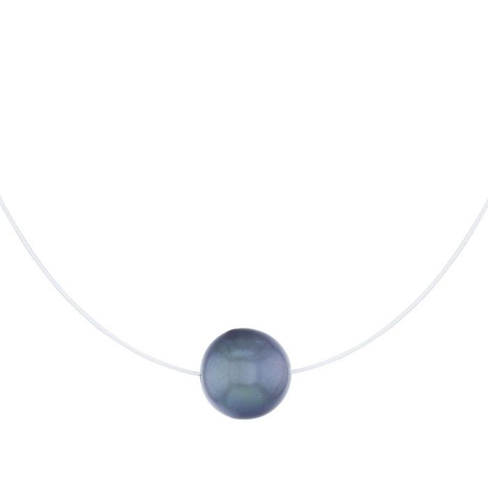 Collier or 375/1000 perle blanc Cleor | La Redoute Acheter Pas Cher Le Plus Récent dx5HG7tqdl