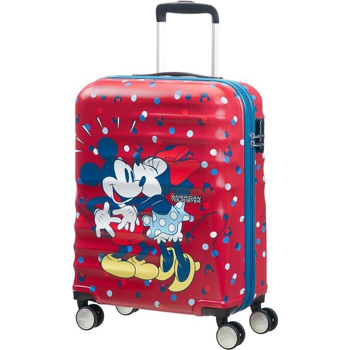valise cabine 4 roues 55cm disney american tourister la redoute. Black Bedroom Furniture Sets. Home Design Ideas