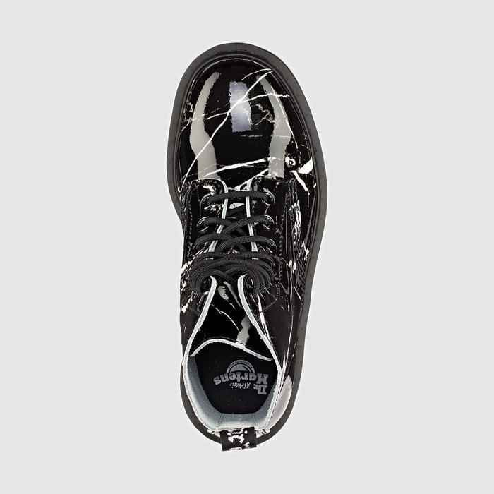 Boots en cuir à lacets pascal noir Dr Martens