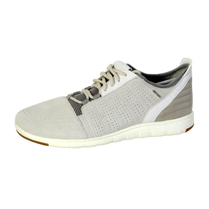 Geox Chaussure  Xunday Papyrus Blanc - Livraison Gratuite avec - Chaussures Baskets basses Homme