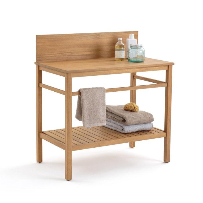 meuble de salle de bain mercure en acacia la redoute interieurs acacia la redoute