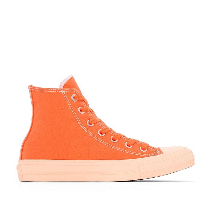 55c3a03d7 Zapatillas de caña alta ctas ii hi pastel midsoles naranja Converse ...