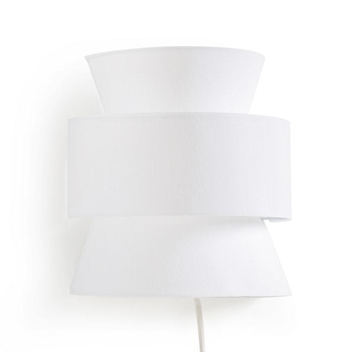 applique murale dolkie la redoute interieurs blanc la redoute. Black Bedroom Furniture Sets. Home Design Ideas
