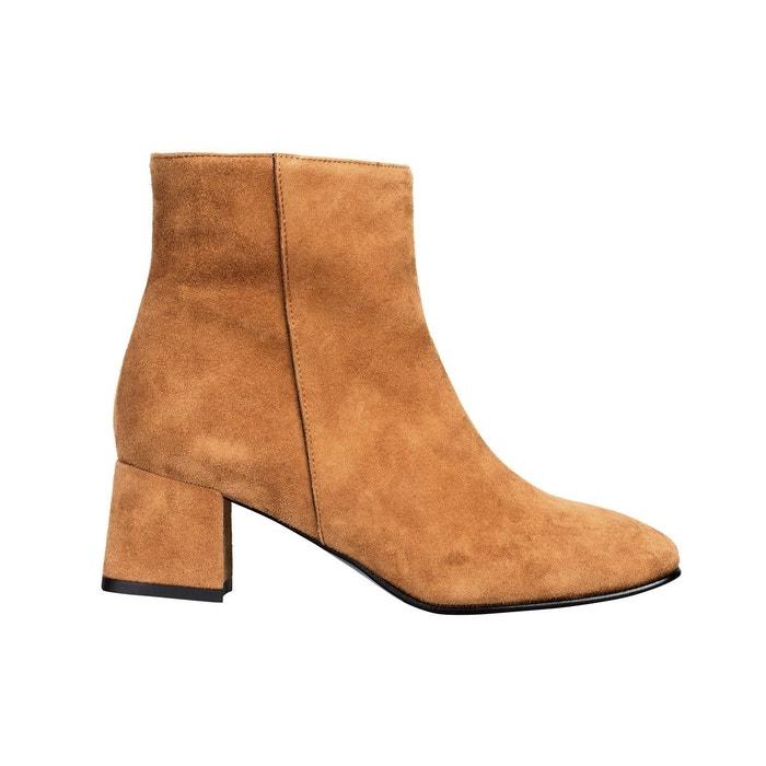 Chaussures Pointures Cuir Bottines Petites Boots Femme Talon Carré Fio Hiver Nw0OPkX8n