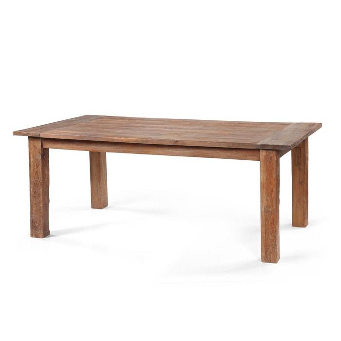 table manger en teck massif java kha home design la. Black Bedroom Furniture Sets. Home Design Ideas