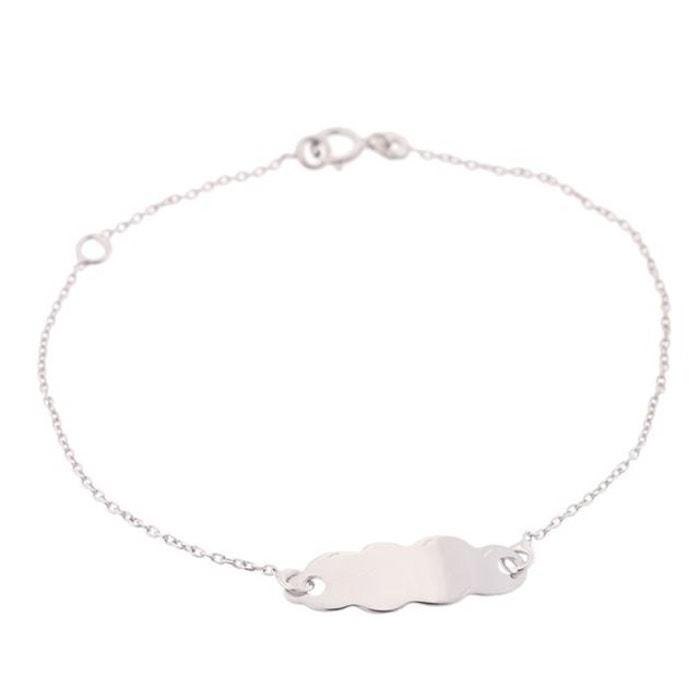 Ysora bracelet identité or blanc 375° bébé couleur unique Ysora | La Redoute Les Dates De Sortie Authentique ZFigi6WPxB