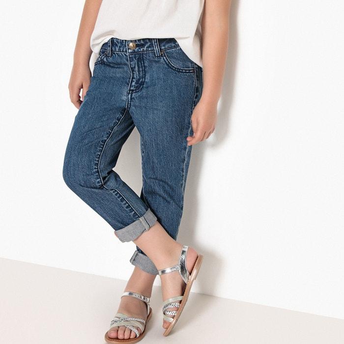 Jeans Boyfit 3 - 12 anni  La Redoute Collections image 0