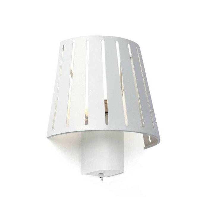 mix applique murale blanc h22cm blanc faro la redoute. Black Bedroom Furniture Sets. Home Design Ideas