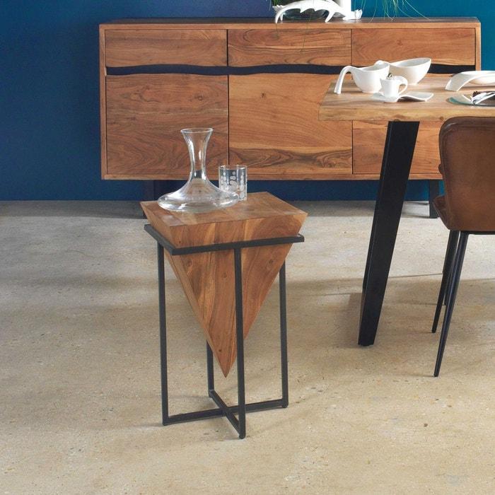 Table basse d\'appoint design conique | ne bois Made In Meubles | La ...