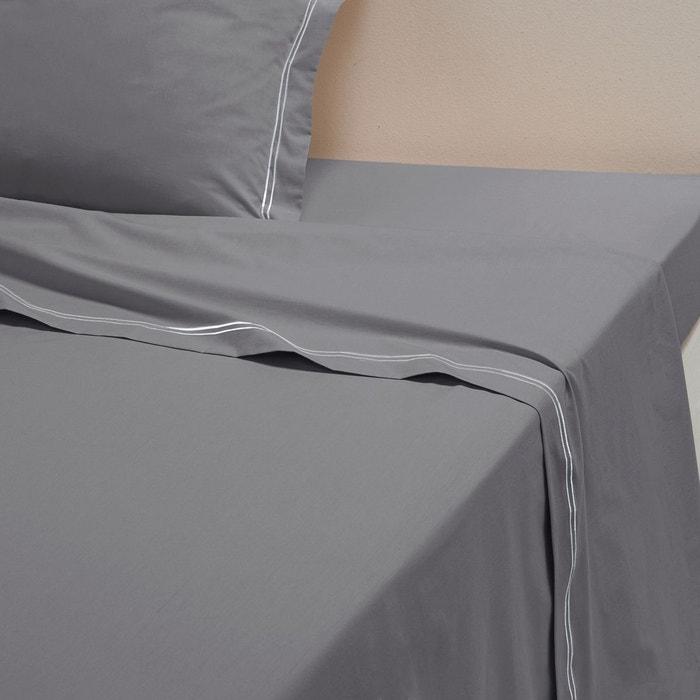 drap plat percale pur coton palace la redoute interieurs. Black Bedroom Furniture Sets. Home Design Ideas