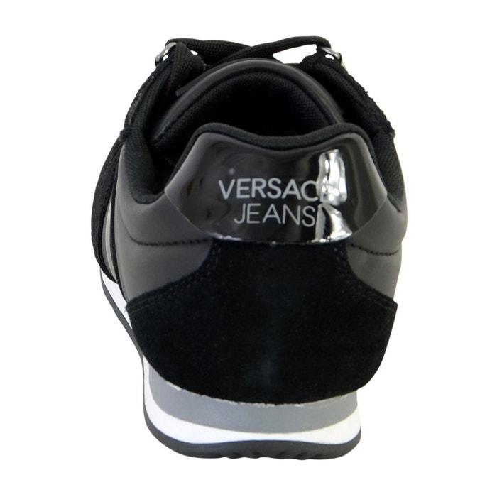 Basket linea fondo running noir Versace