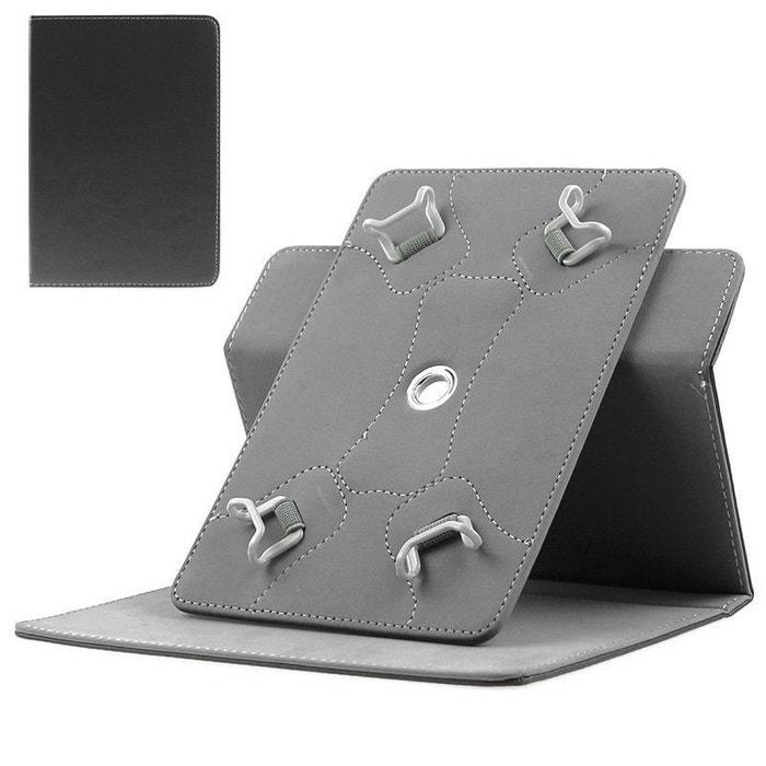 etui protection tablette tactile 7 pouces simili cuir 360 noir couleur unique yonis la redoute. Black Bedroom Furniture Sets. Home Design Ideas