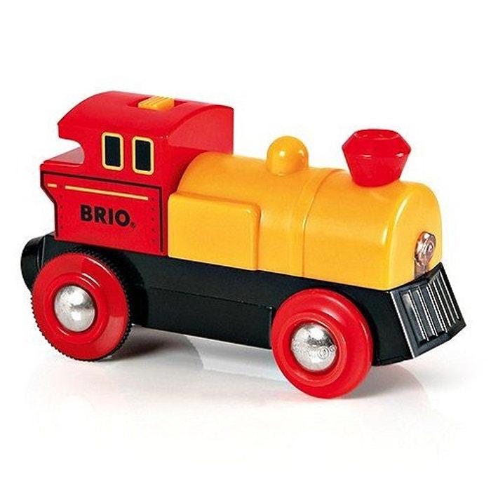 train brio locomotive pile bi direction jaune couleur unique brio la redoute. Black Bedroom Furniture Sets. Home Design Ideas