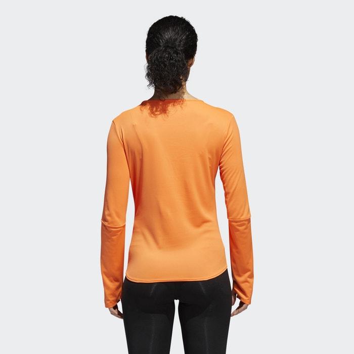 de ADIDAS larga manga de PERFORMANCE Camiseta running xrAHrX8qw