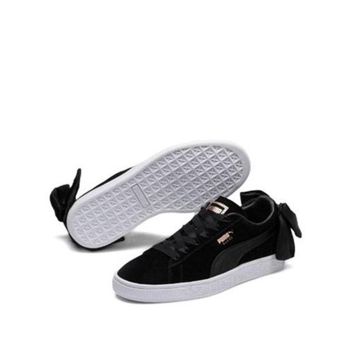 7azarnxw Suede Mobile Bow Avec Cuir Chaussures Redoute Puma