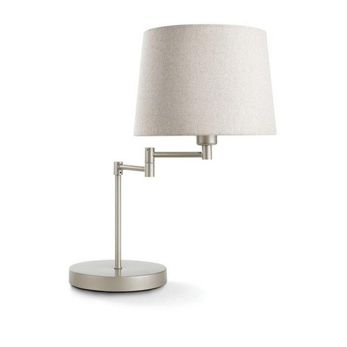Lampe H52 Beige Table De Cm Articulée Donne Rq354AjcL