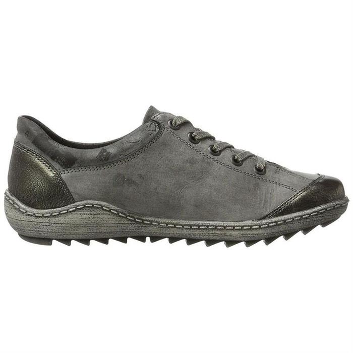Livraison Gratuite À Faible Coût visite Chaussures à lacets cuir + synthetique gris Remonte PSJypYn