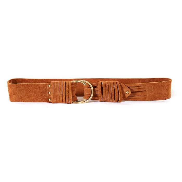 Imagen de Cinturón de piel La Redoute Collections