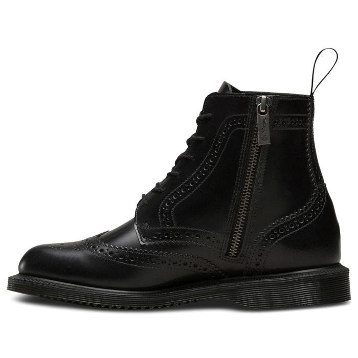 Boots cuir à lacets delphine noir Dr Martens