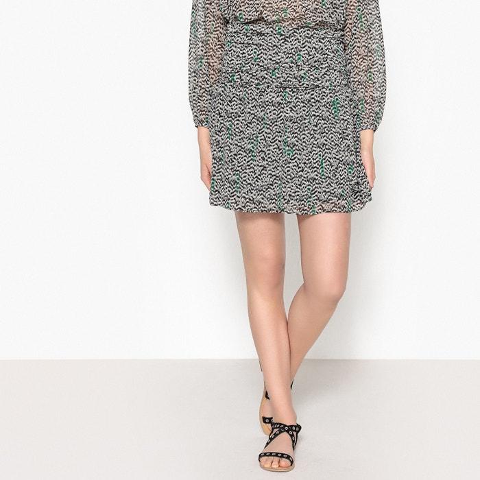 Short Flared Silk Skirt  IKKS image 0