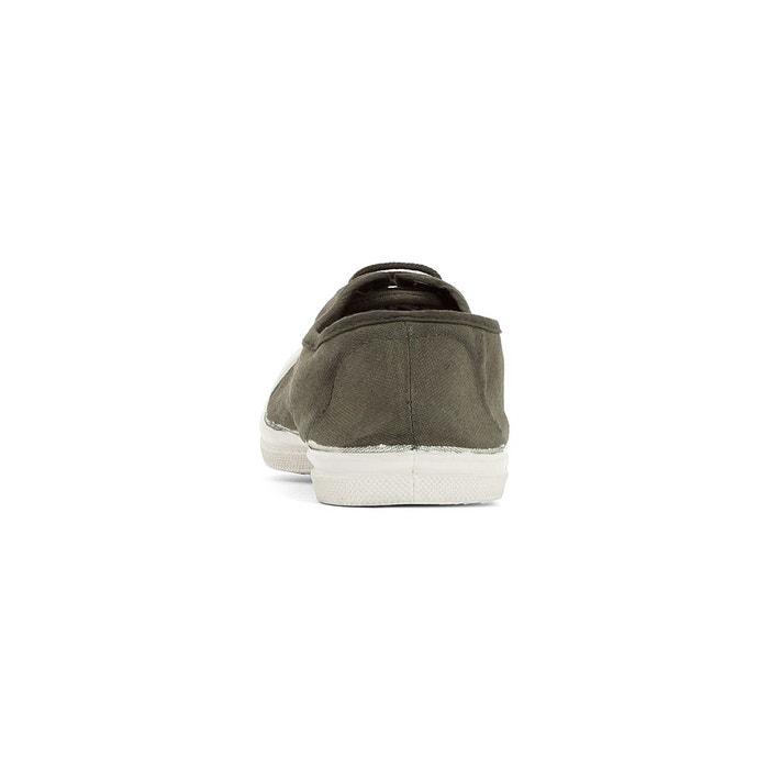 Baskets basique elastique gris Bensimon