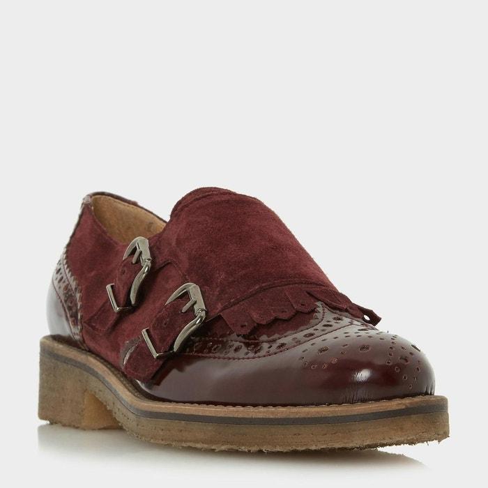 DUNE LONDON - Crepe Sole Double Buckle Monk Shoe - GARLAND | La Redoute