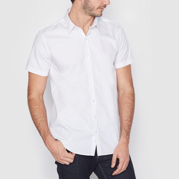 Camisa corte direito, lisa La Redoute Collections