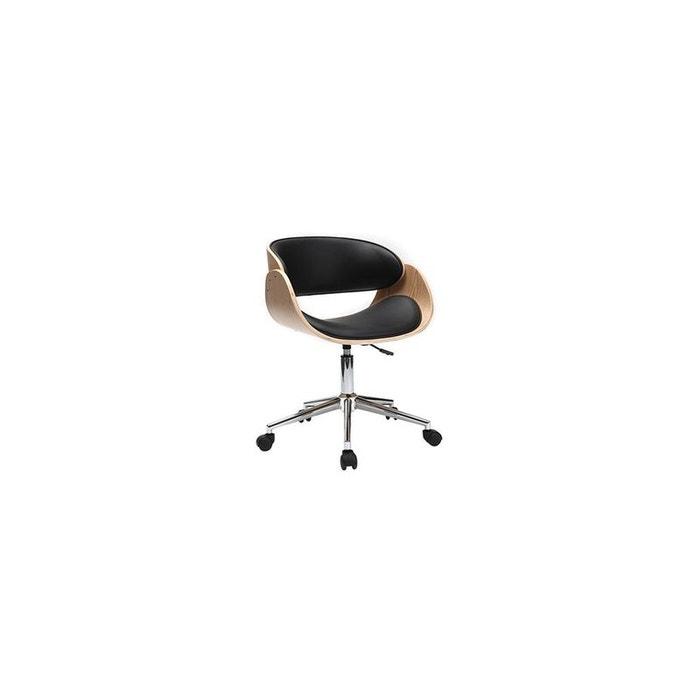 fauteuil de bureau petit prix bent fauteuil bureau miliboo. Black Bedroom Furniture Sets. Home Design Ideas