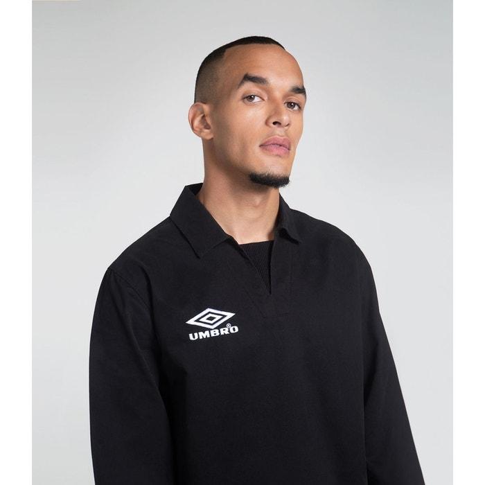 b498f20218e6c T-shirt   débardeur coton homme drill top heritage noir Umbro