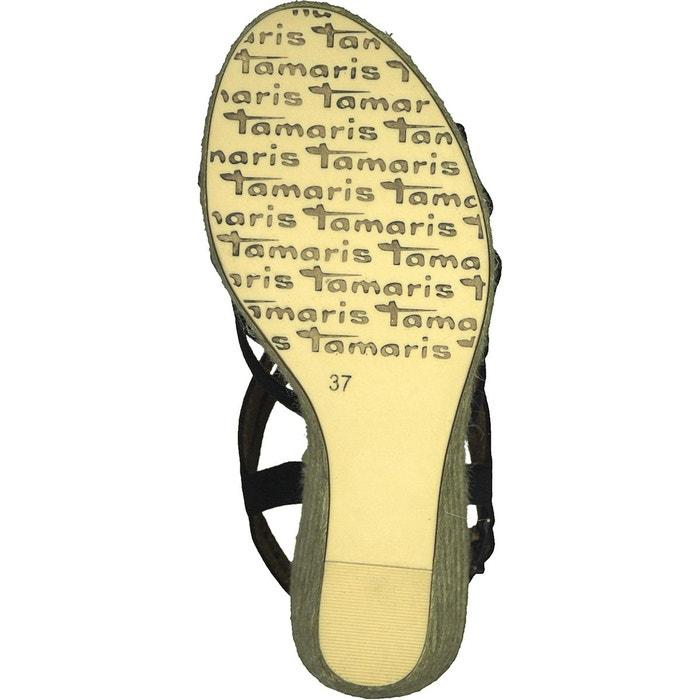 Sandales à talon compensé cynara Tamaris