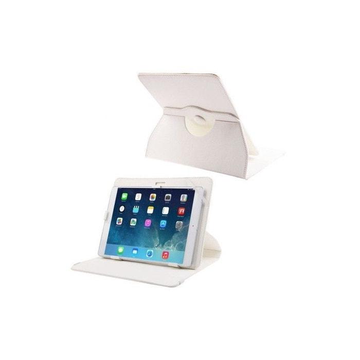 housse universelle tablette 9 7 10 1 pouces support 360 blanc multicolore yonis la redoute. Black Bedroom Furniture Sets. Home Design Ideas