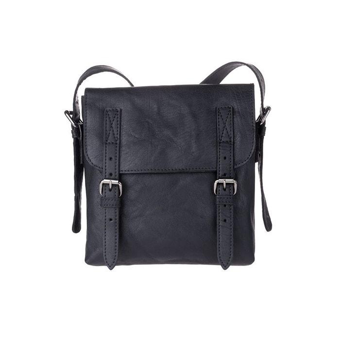 petit sac pour homme en cuir bandouli re r glable pour le bureau ou le voyage avec rabat. Black Bedroom Furniture Sets. Home Design Ideas