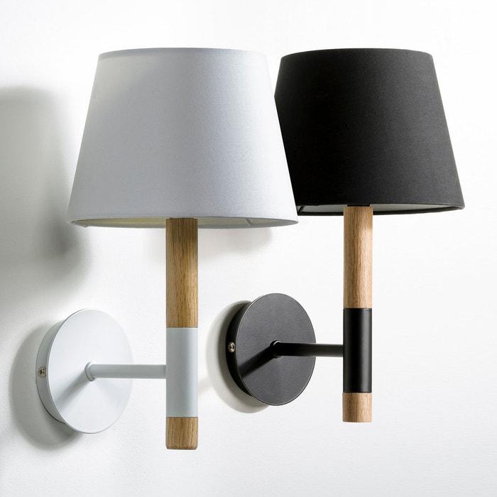 applique stefan ch ne blanc am pm la redoute. Black Bedroom Furniture Sets. Home Design Ideas