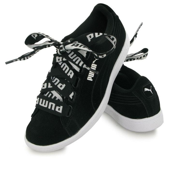 Vikky ribbon bold noir Puma