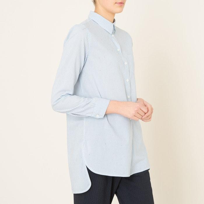 chemise farm bellerose bleu la redoute. Black Bedroom Furniture Sets. Home Design Ideas