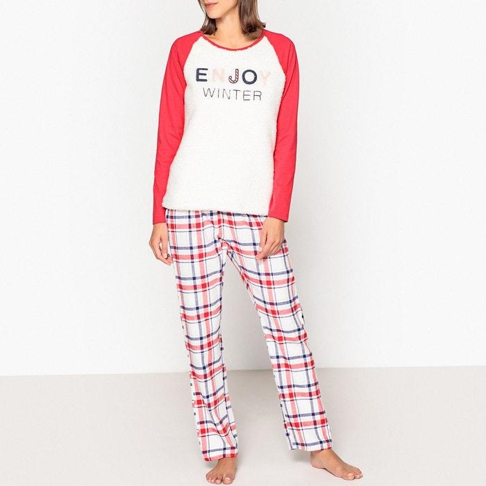 Pyjama à message  LA REDOUTE COLLECTIONS image 0