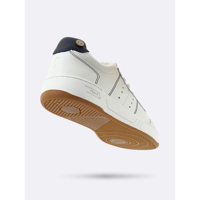 Basket common cuir beige Faguo
