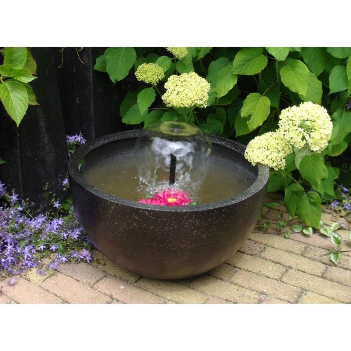 Fontaine de jardin ronde - noire couleur unique Ubbink | La Redoute