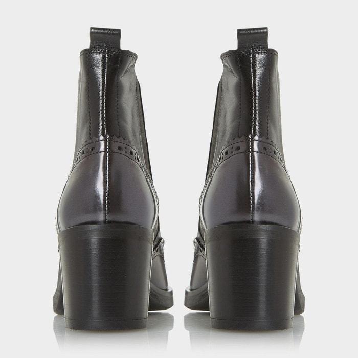 Bottines chelsea style richelieu - parke Dune Black