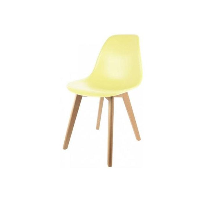chaise scandinave coque jaune pastel fjord declikdeco image 0 - Chaise Scandinave Jaune