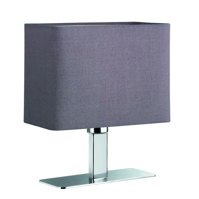 Lampe de table chromée abat jour tissus MING  TRIO image 0